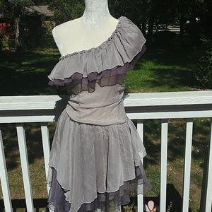 Cecico Off The Shoulder Dress Sz M